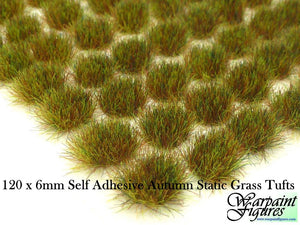 6mm Self Adhesive Static Grass Tufts (Standard)
