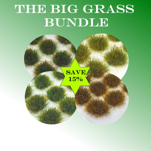 SAVE 15% - 4mm Big Bundle Static Grass Tufts Standard