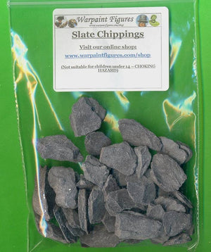Slate Chippings For Wargaming Miniatures