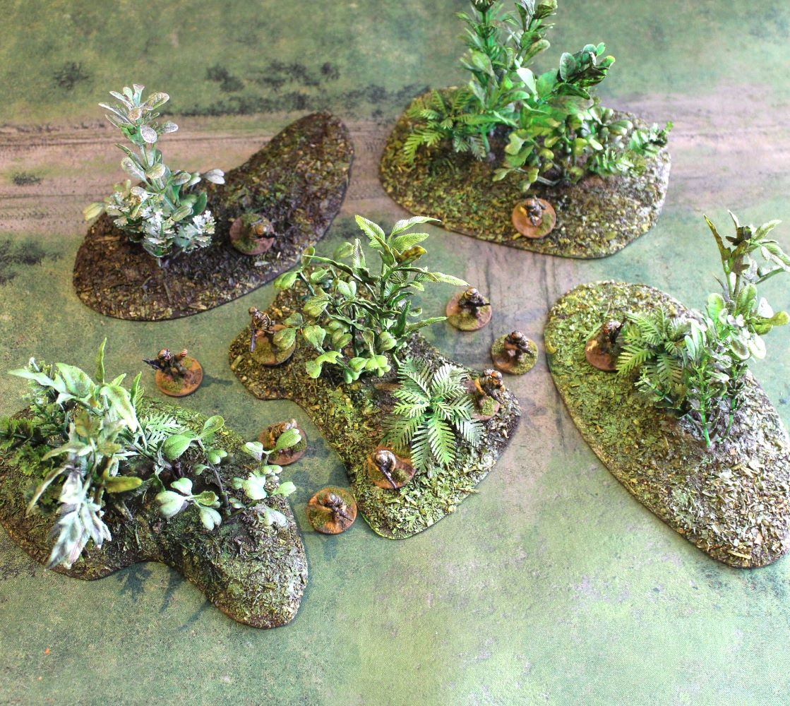 Jungle Wargaming Terrain Set #1