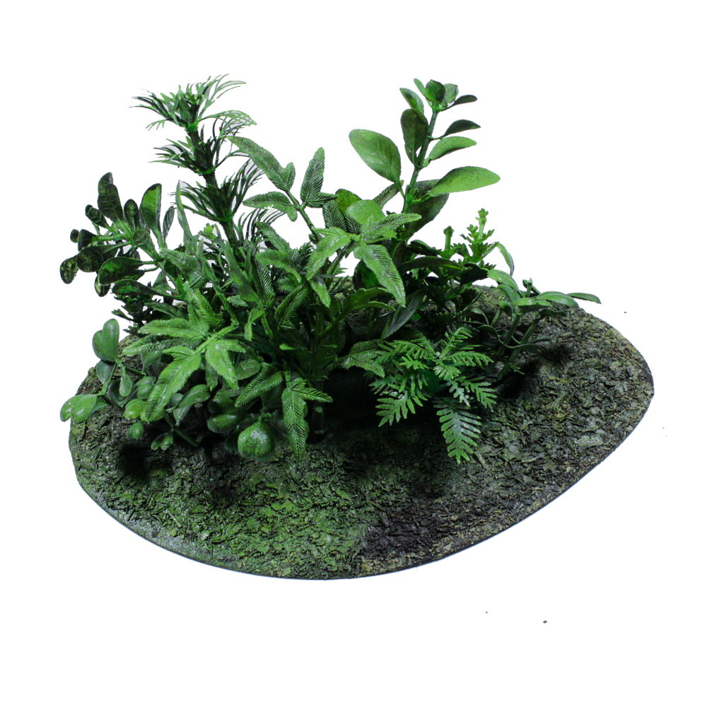 Hand made Jungle wargames terrain pieces for tabletop games 15mm 20mm 28mm Vietnam FOW Bolt Action 40K