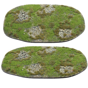 Hand made wargames terrain pieces for tabletop games 15mm 20mm 28mm Vietnam FOW Bolt Action 40K