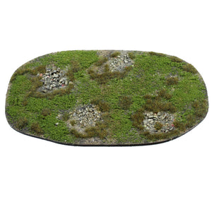 warpaint figures medium area terrain & scenery for wargames and wargaming tables