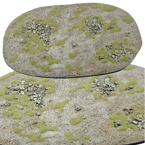 Warpaint Figures - Medium Area Desert terrain for wargaming - WW2, Bolt Action, Chain Of Command