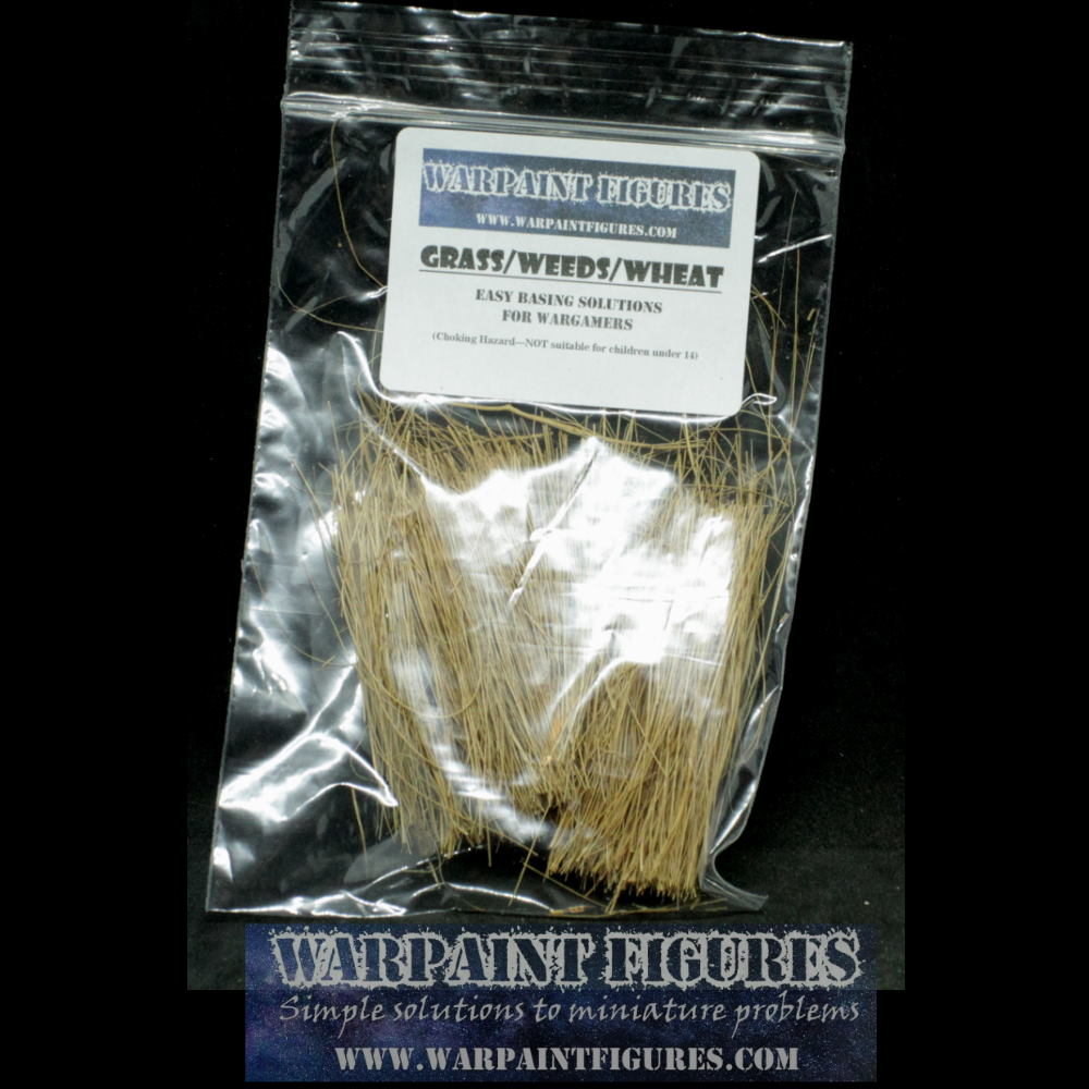 Long Grass/Weeds/Wheat Bags For Basing & Terrain