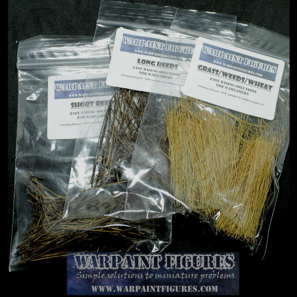 Reed/Swamp/Wheat Fields Basing Kits For Wargaming & Railway Basing Terrain & Layouts