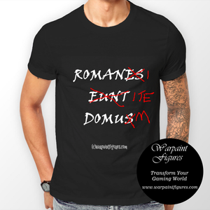 Men's Wargaming T Shirt - People Called Romanis They Go The House