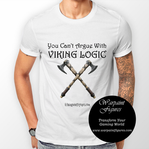 Men's Viking T Shirt - You Can't Argue with Viking Logic