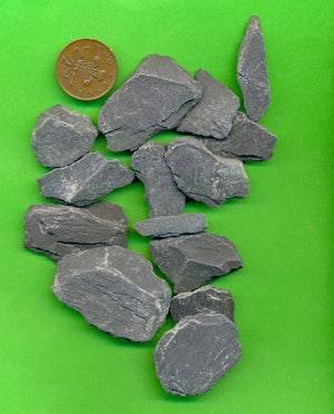 Slate Pieces For Wargaming Miniatures