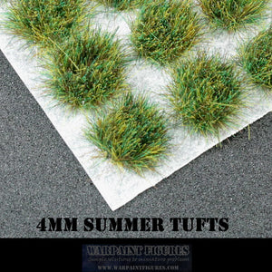 WPF 120 x 4mm Summer Static Grass Tufts - Warhammer 40K, Age Of Sigmar, Kings Of War, Bolt Action and more