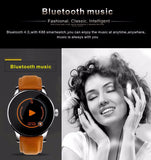 Smart Watch IOS Android Heart Rate Monitor Watch 1.22 Inch IPS Round Screen Bluetooth SmartWatch