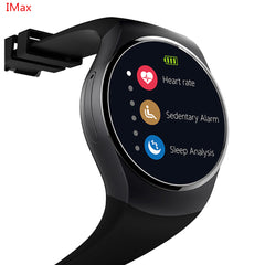 KW18 Smart Watch SIM TF MTK2502 Heart Rate Monitor Smartwatch Touch Screen bluetooth Wristwatch for apple android IOS