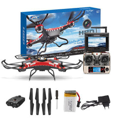 $277 Quadcopter Drone HD Camera + Monitor+ 4 Battery Mini Drone with camera