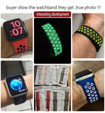 $10 Brand Silicon Sports Band Colorful wrist Strap for Apple Watch
