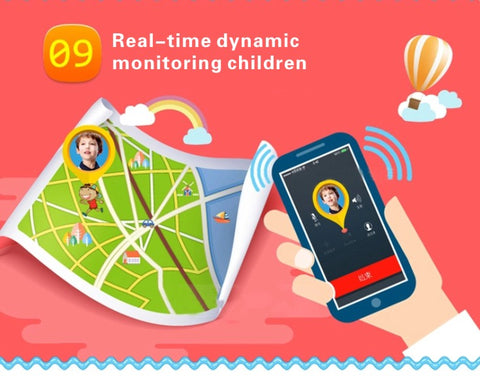 Children Tracker Anti-Lost Smartwatch