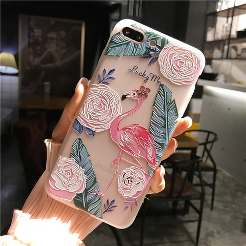 sFor iPhone 6 Case iPhone 7 8 Case Silicone Niceking Cute Cartoon Matte TPU Soft Back Cover Phone Cases For iPhone 6S 6 7 8 Plus