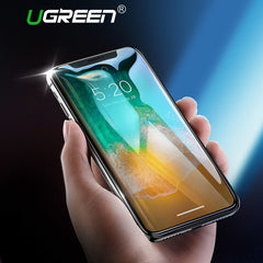 Ugreen Screen Protector Tempered Glass For iPhone 7 8 X 6 6s 6Plus 7Plus 8Plus HD Protective Film For iPhone Xs 7 Phone Glass