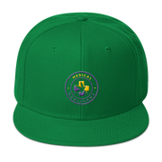 Medical Marijuana Snapback Hat