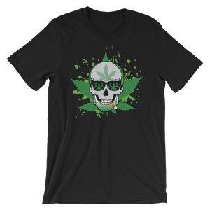 The Green Skull Short-Sleeve Unisex T-Shirt