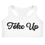 Toke Up Sports bra