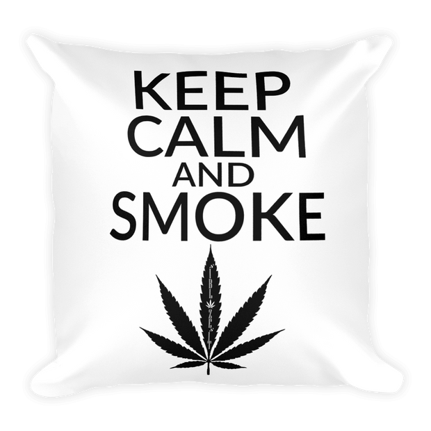 Keep Calm Square Pillow