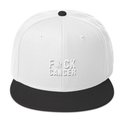 F*ck Cancer Snapback Hat