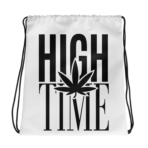 High Time Drawstring bag