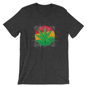 Leaf & Flag Short-Sleeve Unisex T-Shirt