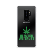 In Weed We Trust Samsung Case