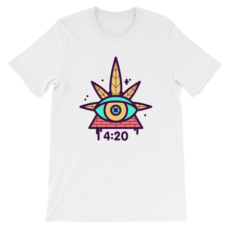 420 Clock Short-Sleeve Unisex T-Shirt