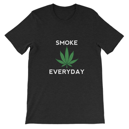 Smoke Everyday Short-Sleeve Unisex T-Shirt