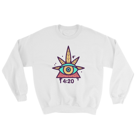 420 Clock Sweatshirt