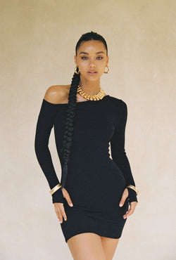 The Lova Dress in Black