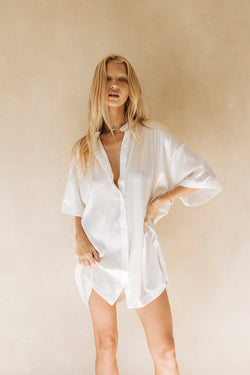 The Heavenly shirt dress