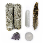 White Sage Smudge Kit - Hemlock Park Natural Skincare Made From Organic Ingredients