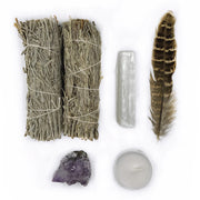 Blue Sage Smudge Kit - Hemlock Park Natural Skincare Made From Organic Ingredients