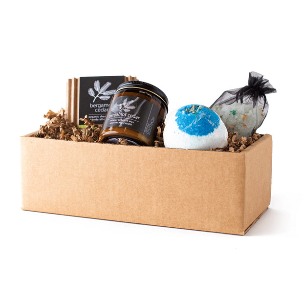 Bergamot Cedar | Artisanal Spa Collection Gift Set