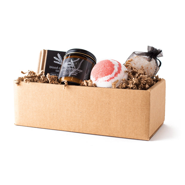Blood Orange Sage | Artisanal Spa Collection Gift Set