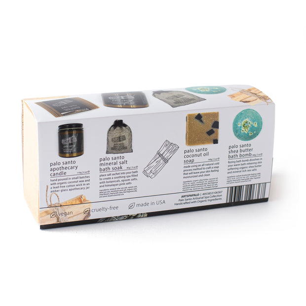 Palo Santo | Artisanal Spa Collection Gift Set
