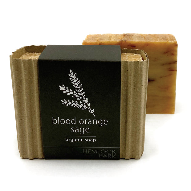 Blood Orange Sage Organic Soap