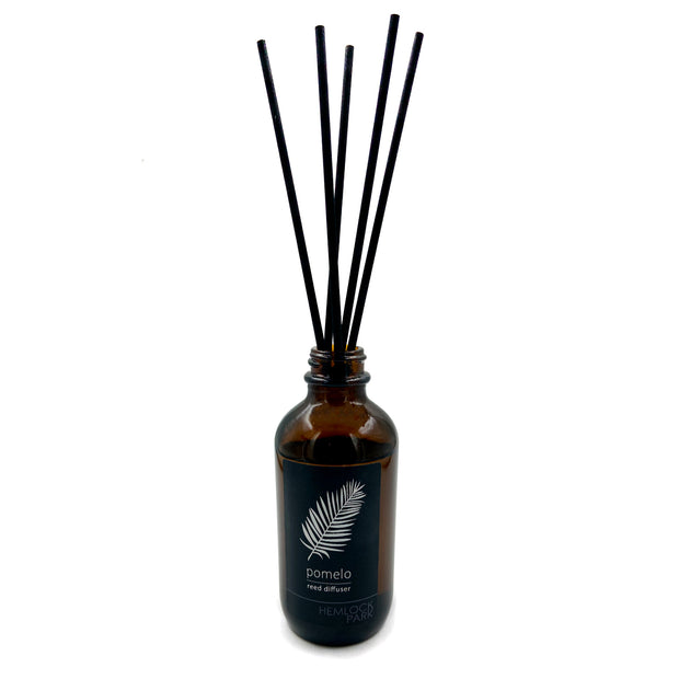 Pomelo Reed Diffuser - Hemlock Park Natural Skincare Made From Organic Ingredients