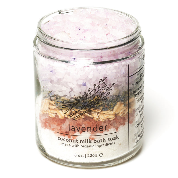 Lavender Coconut Milk Bath Soak