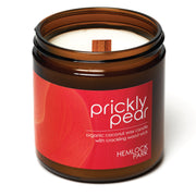 Prickly Pear | Crackling Wood Wick Candle with Organic Coconut Wax