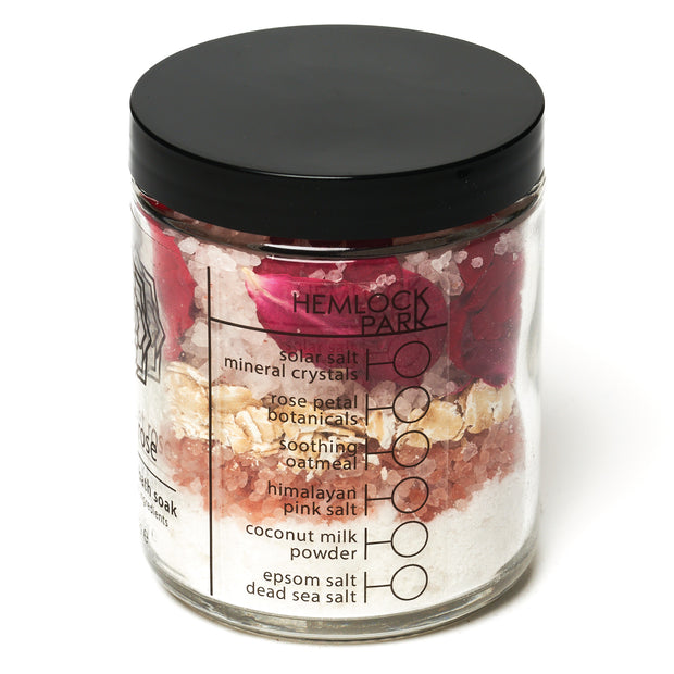 Scarlet Rose Coconut Milk Bath Soak
