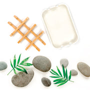 Bamboo Soap Dish - Hemlock Park Natural Skincare Made From Organic Ingredients