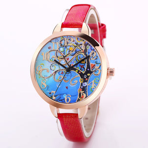Vintage Tree of Life Quartz Watch
