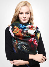 Luxurious Cashmere Floral Shawl - 14 Colors - Bohemian Lily