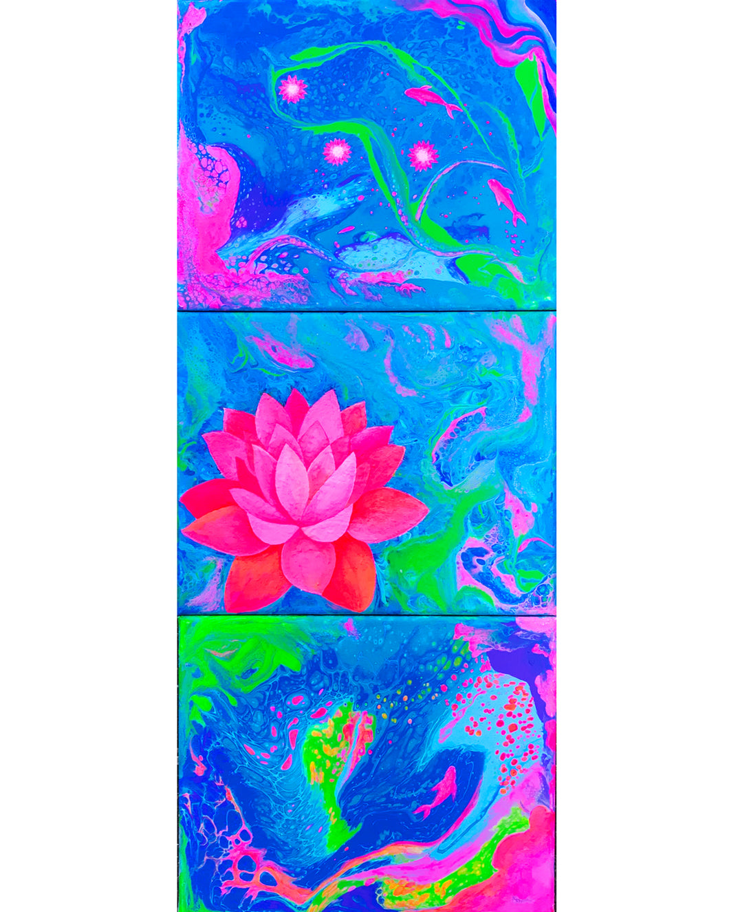 Water Lily Painting - FREE Download
