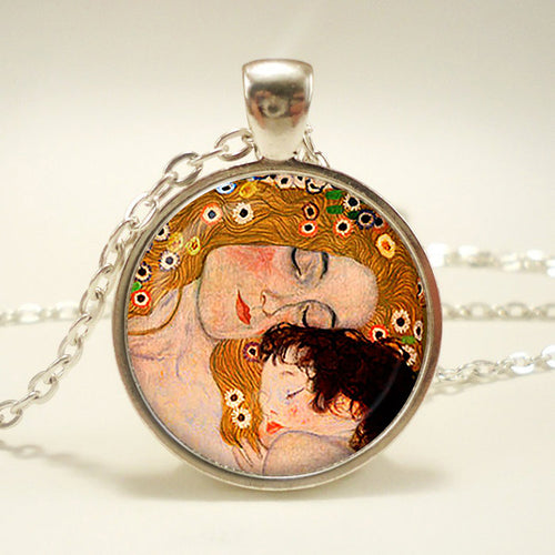 Mother and Child Pendant - Family Collection - Bohemian Lily