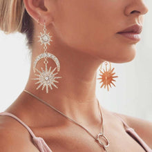 The Sun & The Moon Earrings - Rare Treasure Collection - Bohemian Lily